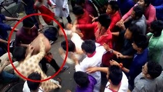 দেখুন কি ঘটেছিলো পয়লা বৈশাখের দিন টিএসসি তে !!! Bangladeshi happy new year 2015 scandal