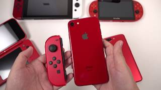 RED iPhone 8: Unboxing & Color Review