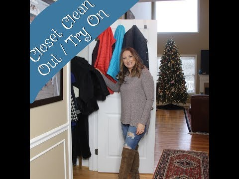 Coat Closet Clean Out | Try On | LisaSz09