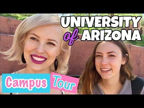 UNIVERSITY OF ARIZONA TUCSON CAMPUS TOUR 2017 // VLOG