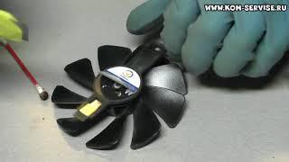 Злетів вентилятор з SAPPHIRE NITRO+,чистка і змазка.