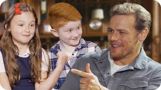 Sam Heughan Asks Kids for Dating Advice // Omaze