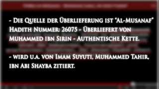 """""""Sagt nicht er sei der letzte Prophet"""" - Aisha (ra) - Authentisch HD"""