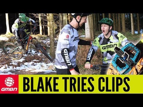 Blake Tries Clips! | How To Ride Your MTB With Clipless Pedals