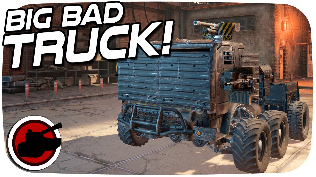 Crossout The Big Bad Truck Crossout Builds Crossout
