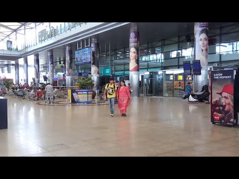 Hyderabad airport arrival gate