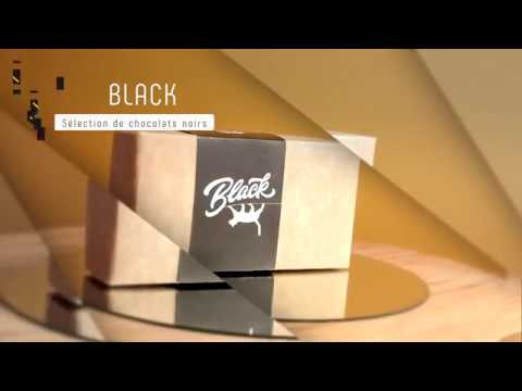 B Chocolat   BLACK   Sélection de chocolats noirs