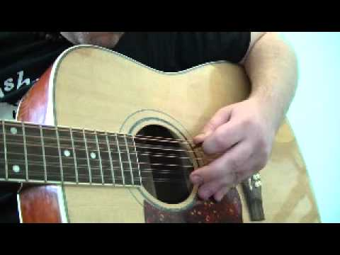 open c tuning 12 string guitar youtube. Black Bedroom Furniture Sets. Home Design Ideas