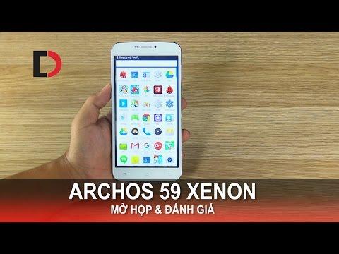 Di Động Việt - Đánh giá ARCHOS 59 XENON - Phablet Màn hình 6 Inch, 4G LTE, giá mềm