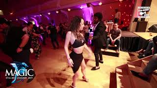 Terry SalsAlianza & Laura - social dancing @ Magic Slovenian Salsa Festival 2018