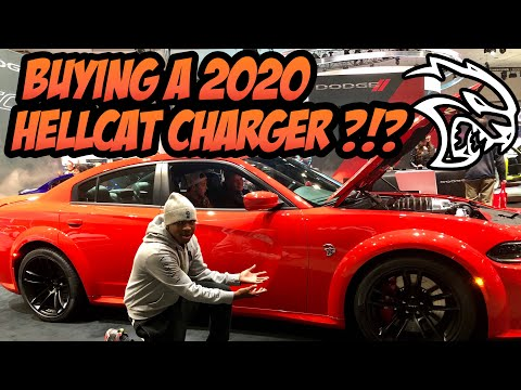 Im Buying The NEW 2020 WIDEBODY HELLCAT CHARGER! 2019 LA Auto Show