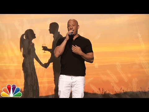 "Thumbnail: Vin Diesel Does Karaoke to ""Lean on Me"""