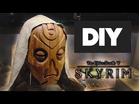 Настоящая маска драконьего жреца из игры skyrim своими руками thumbnail