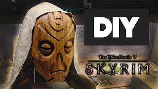 Настоящая маска драконьего жреца из игры skyrim своими руками