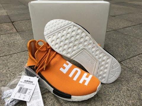 ad944a0135ba3 Pharrell x Adidas NMD Human Race HUE MAN