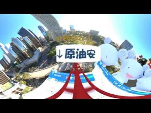 Tokyo stock exchange roller coaster VR 360° 3D