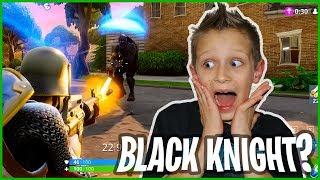 I Killed The Black Knight in Fortnite!!!