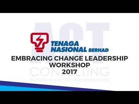 ACT Consulting - Embracing Change Leadership Workshop 2017 (Tenaga Nasional Berhad)