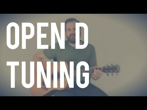 Introduction to Open D Tuning (Blues Strumming) | TB106