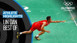 Lin Dan's 🇨🇳 Best Badminton Moments at the Olympics | Athlete Highlights