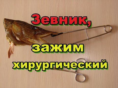 Экстрактор, зажим хирургический и зевник! Необходимые вещи на рыбалке!