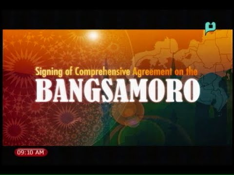 Signing of the Comprehensive Agreement on the Bangsamoro - PTV Special Coverage [03/27/14]