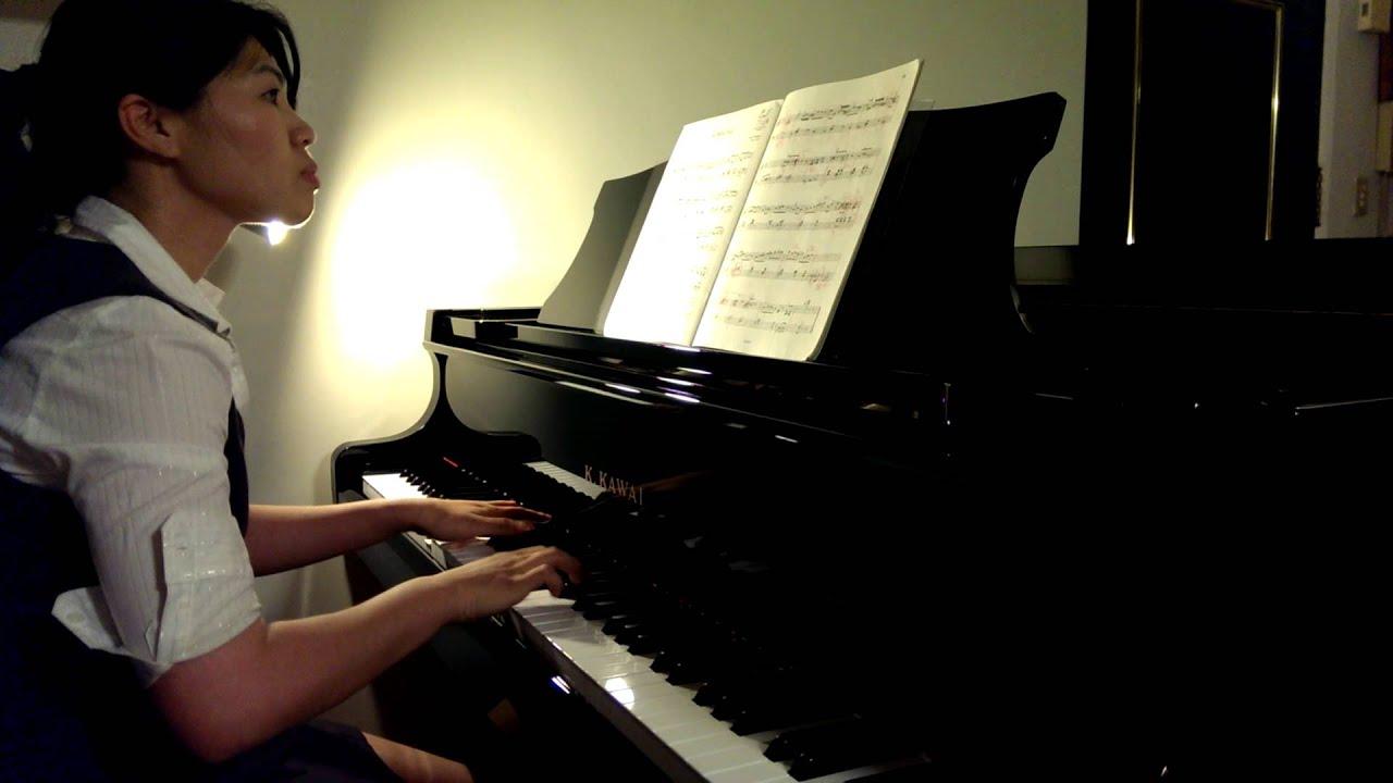 2013年英國皇家音樂院鋼琴檢定六級考曲C - YouTube