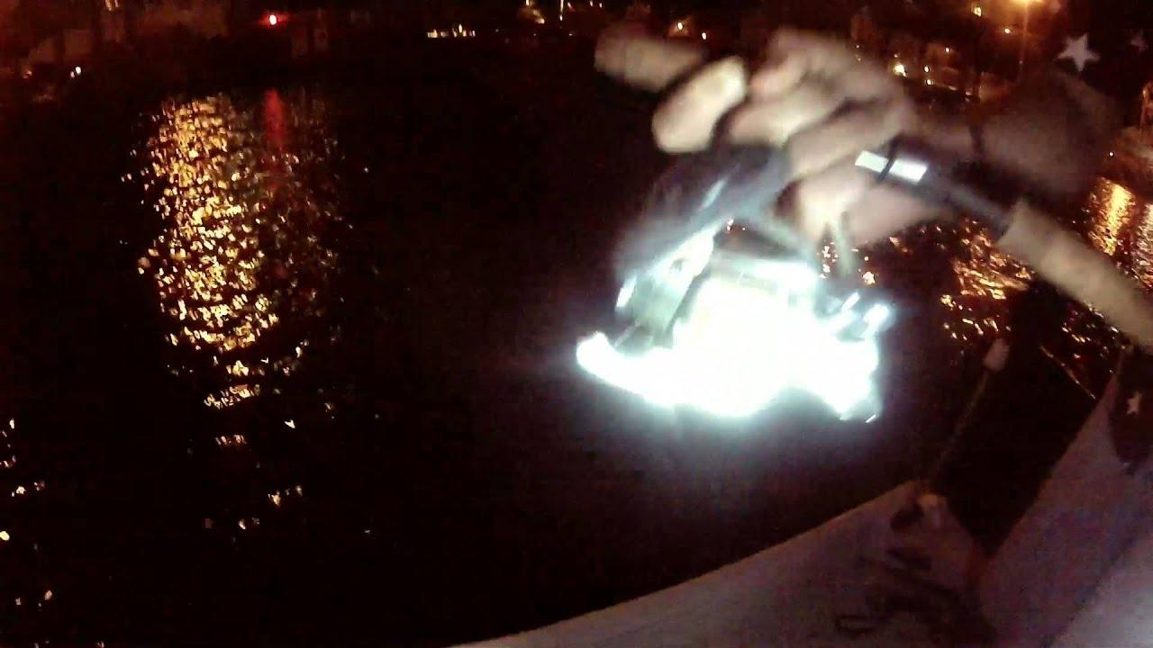 tarpon fishing on dock lights - youtube, Reel Combo