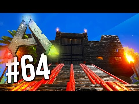 Ark Survival Evolved - FINAL STONE BASE BUILD! Ark Building! (Ark Survival Evolved)