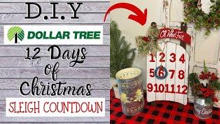 Dollar Tree DIY 12 Days Of Christmas Countdown | KB Decor Crafts