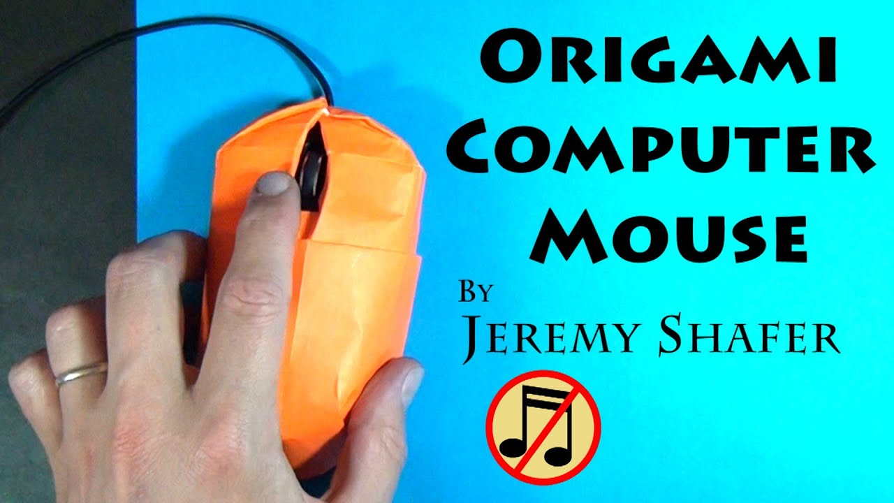 Origami Computer Mouse (no music) - YouTube