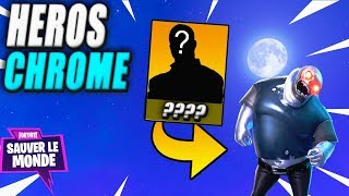 New Chrome Heroes - Builder! Fortnite Saving the World
