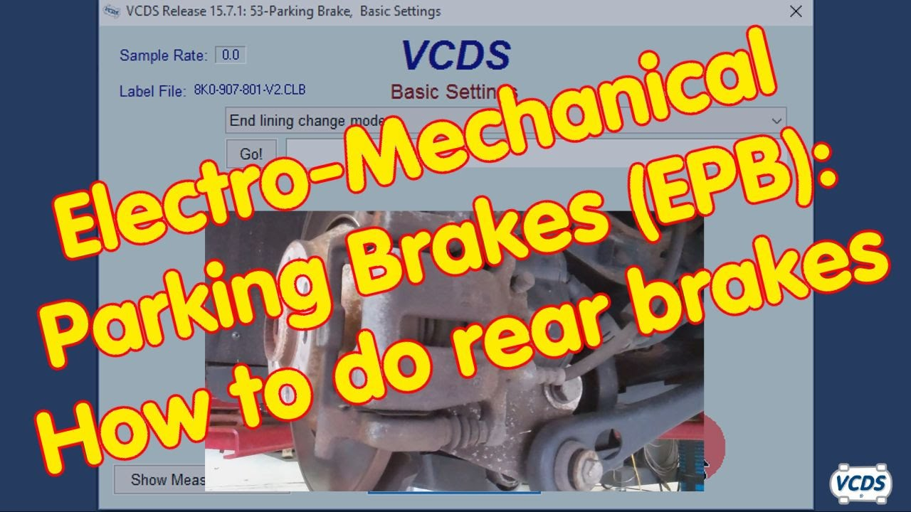 hight resolution of electro mechanical parking brakes epb how to do rear brakes