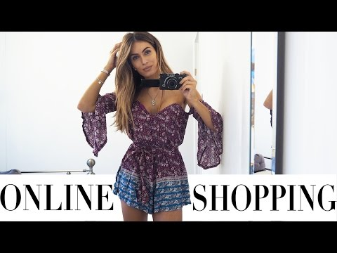 ONLINE SHOPPING HAUL AND TRY ON | Lydia Elise Millen