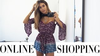 online shopping haul and try on   lydia elise millen