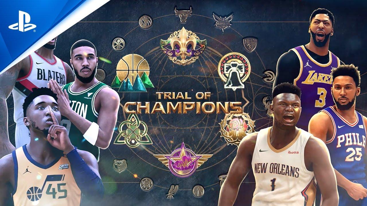 NBA 2K21 - MyTEAM Season 8: Trial Of Champions Launch Trailer