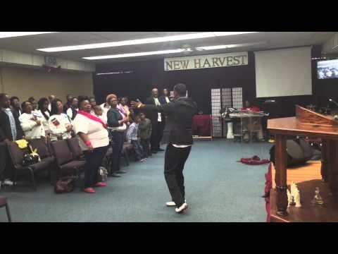 Billy Dee @ New Harvest Christian Center 12/21/14