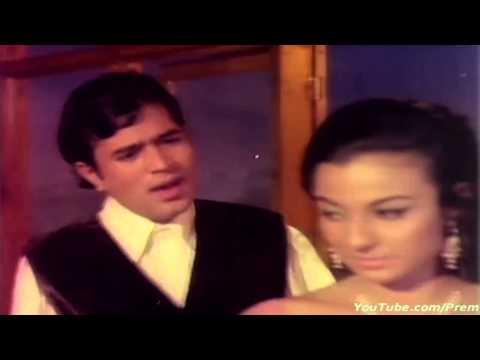 O Mere Dil Ke Chain HD With Lyrics  Rajesh Khanna & Tanuja