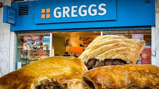The Greggs 35 Pound Challenge - 12,000 Calories of Baked Goodies