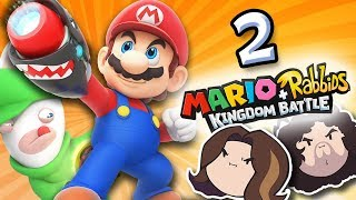 Mario + Rabbids Kingdom Battle: Arin's Epic Milkshake - PART 2 - Game Grumps