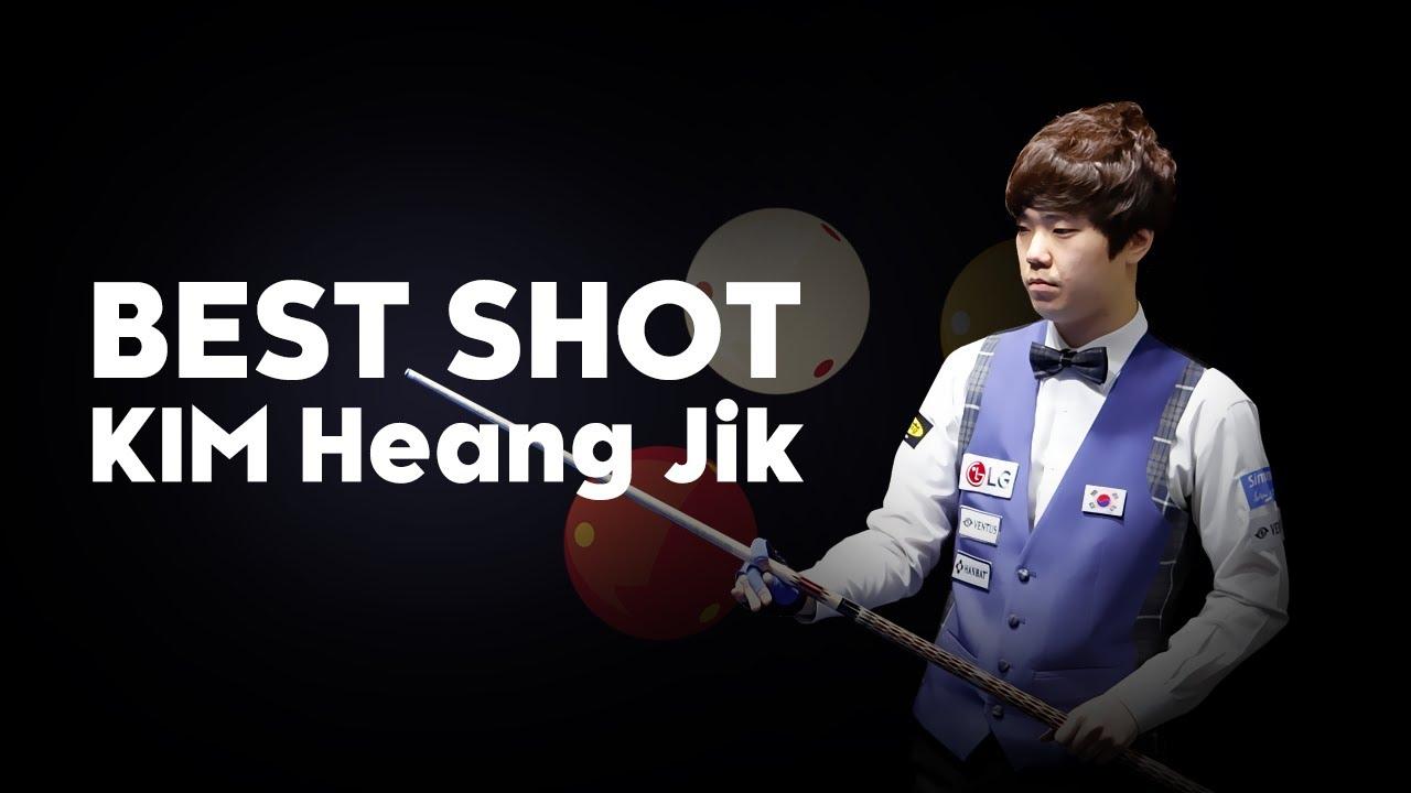[당구-Billiard] 3 Cushion_Heang-Jik Kim_Best Shot #1