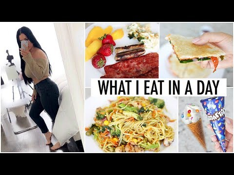 What I Eat In A Day to LOSE WEIGHT - How I Lost 40 Lbs