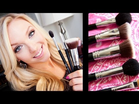 How I Clean My Makeup Brushes ♥ thumbnail