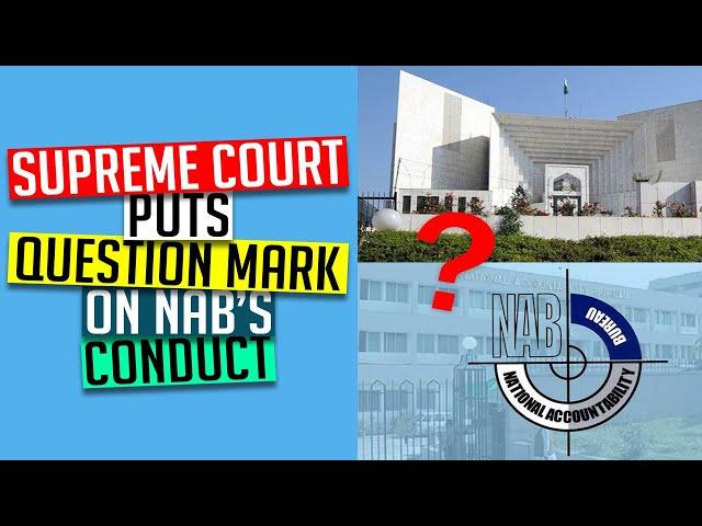 Supreme Court puts question mark on NAB's conduct| Arif Nizami Column | 9 News HD