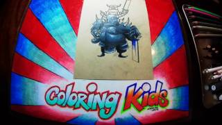 Clash of Clans Coloring Pages for Kids Learn How to Color with Pekka