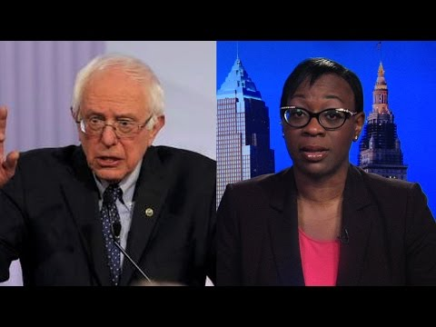 "Nina Turner on Switching from Clinton to Sanders: He's Been a ""Constant Champion"" of Civil Rights"