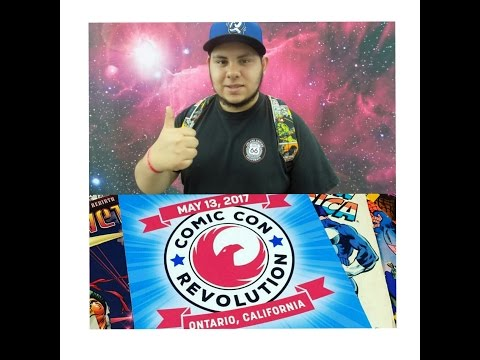 ComicCon Revolution 2017 recap