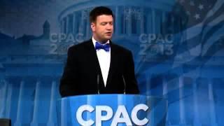 Beau McCoy speaks at CPAC 2013