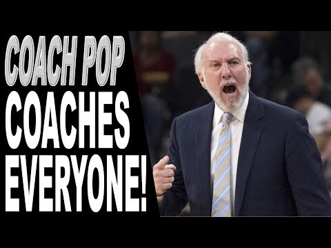 Gregg Popovich YELLS AT PLAYERS | POP Coaches Superstars