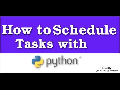 How to Schedule Tasks with Python using Schedule